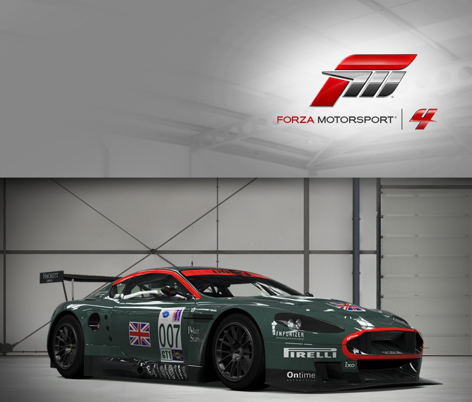 #007 Aston Martin Racing DBR9